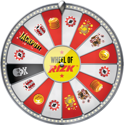 Wheel of Rizk - Win €1000 on the Wheel of Rizk Raffle